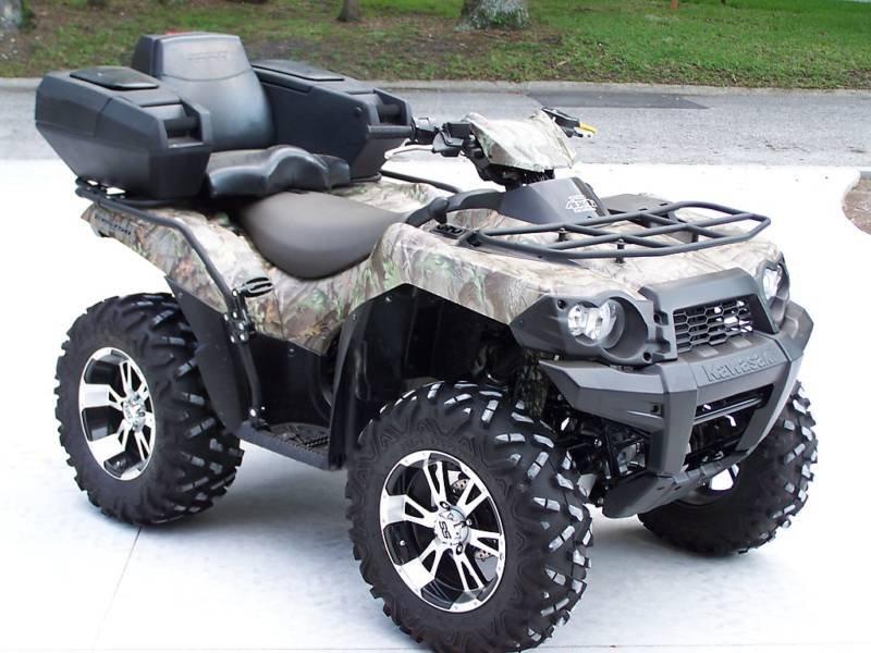 Kawasaki Brute Force Seat