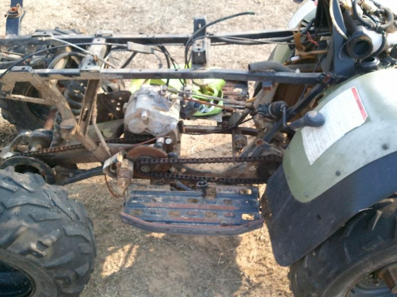 Sportsman 4x4 Motorcycle Engine Swap ATV Forum All Terrain