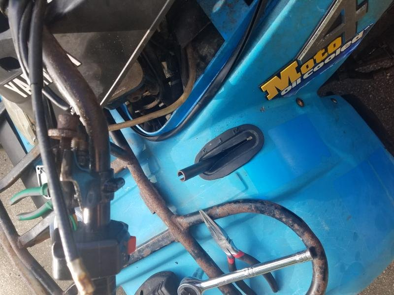 87 yamaha moto-4 350 reverse lever broken? - ATV Forum - All