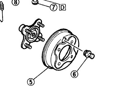 Can T Remove Brake Drum Off Yamaha Atv