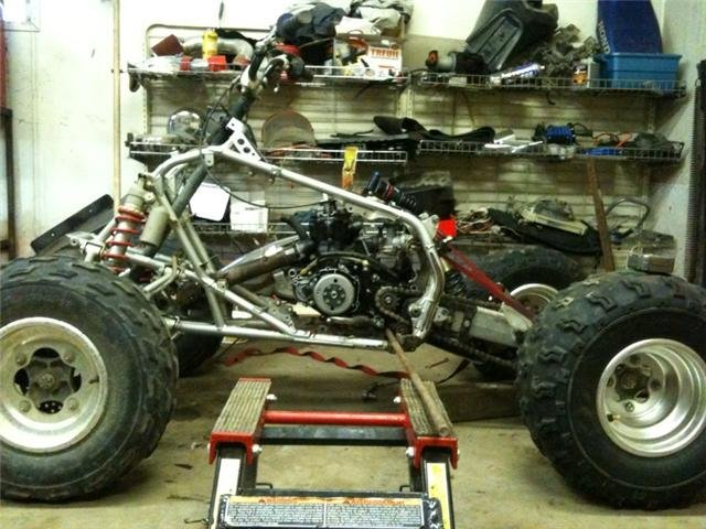 250r engine in 450r chassis project - ATV Forum - All Terrain ...