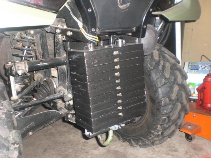 Atv Wheel Weights : Dually wheel kits atv forum all terrain vehicle