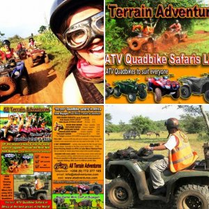 ATV Quadbike Safaris in Uganda, Africa