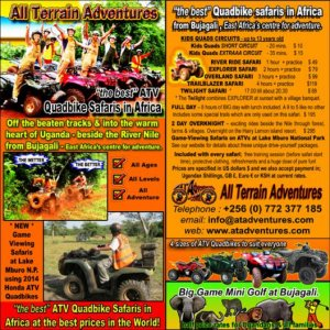 All Terrain Adventures current flyer